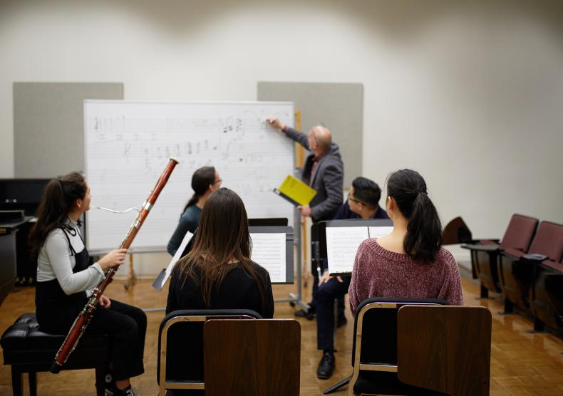 Woodwind chamber coaching with Professor Richie Hawley